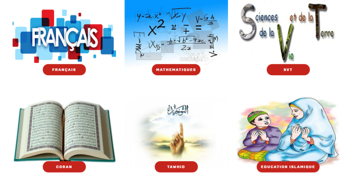 Sakina Collège Programme